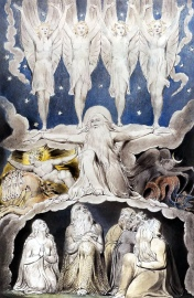 Job 38:7 When the Morning Stars Sang Together by William Blake